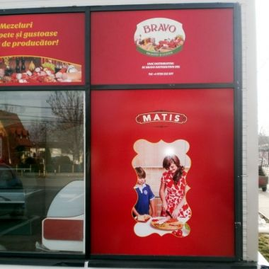 PR040 - Printed Window Graphics Self Adhesive (price per sqm*)