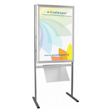 Infoboard Lightbox Single-Sided B2