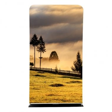 Tension Fabric Display Monolith 120cm