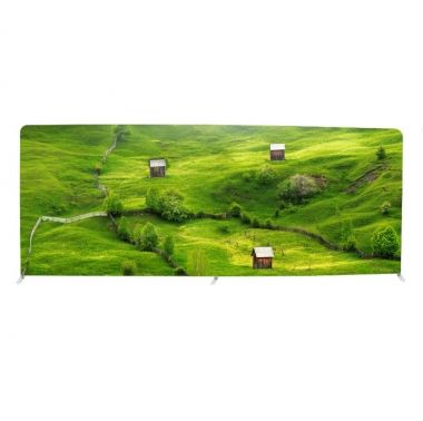 PO552 Tension Fabric Display Straight 580cm