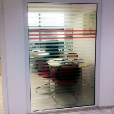 Sandblasting-type self-adhesive vinyl (price per sqm*)