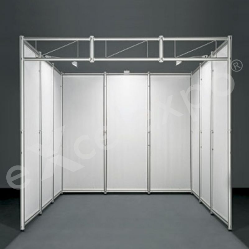 Exhibition Stand Decoration With Octanorm Walls