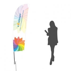 ST031P Feather Flag M with pin base